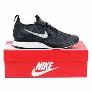 Nike Air Zoom Mariah Flyknit Racer Black White Dark Grey - Mens Clothing from Attic Clothing UK