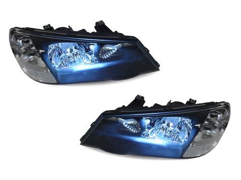 02 03 acura tl hid clear corner jdm black headlight type s