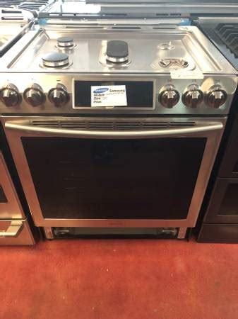 samsung   convection oven  stainless steel   appliance outlet