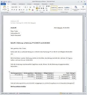 rechnung schreiben finanzen downloads computer bild
