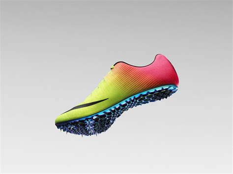 nike zoom run the one check out nike s new machine designed track shoe wired