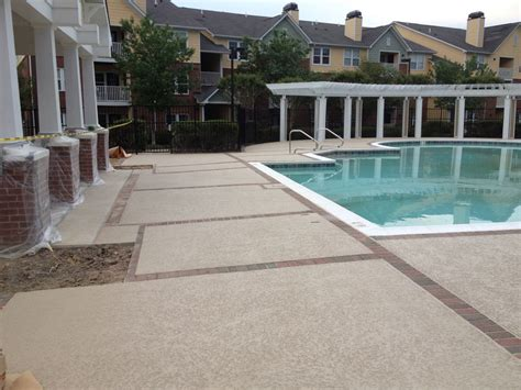 cool ideas for concrete patios at williamsburg townhomes