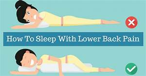 how to sleep with lower back pain 4 dos and 4 don39ts With best way to sleep with lower back pain