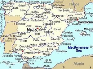 Vakantie Spanje - de meeste keuze