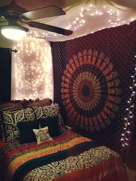 Multicolor Indian Mandala Hippie Boho Dorm Decor Tapestry