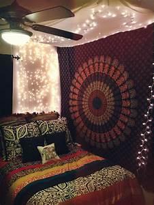 Multicolor Indian Mandala Hippie Boho Dorm Decor Tapestry ...