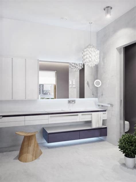 Modern Zoning In Ukrainian Apartment modern zoning in ukrainian apartment