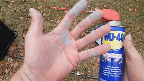 Wd 40 To The Rescue, Great Hand Cleaner Especially Paint