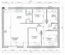 plan maison plein pied 80m2 - Plan De Maison De 80m2 Plein Pied