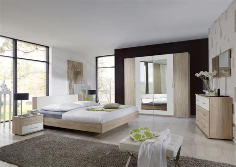 d馗or de chambre armoire contemporaine 4 portes avec miroir chêne blanc alpin armoire 4 portes chambre adulte chambre