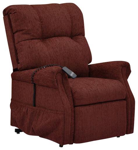 med lift dawson two way reclining lift chair maroon
