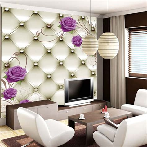 High Quality 3d Stereoscopic Wallpaper For Walls 3 D Papel