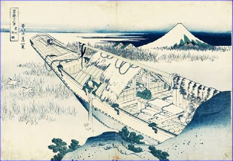 trente six vues du mont fuji 162 best images about hokusai katsushika on small fishing boats japanese and de