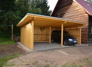 Carport Aus Holz : carport mit holz verkleiden ~ Whattoseeinmadrid.com Haus und Dekorationen