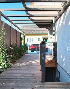 Pergola Holz Modern : vorgarten mit moderner pergola walli wohnraum garten ~ Michelbontemps.com Haus und Dekorationen