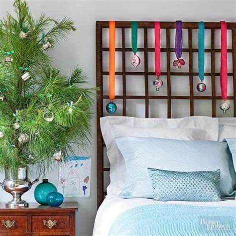 ways  create  christmas wonderland   bedroom