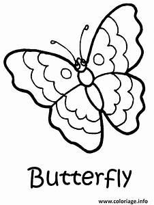 Dessin Facile Papillon : coloriage papillon facile 41 ~ Melissatoandfro.com Idées de Décoration
