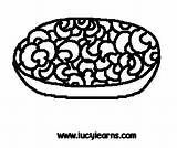 Cheese Macaroni Coloring Pages Template Clipart Sheet sketch template