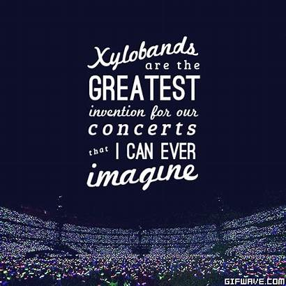 Quotes Band Concert Inspirational Quotesgram Quote Coldplay