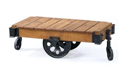 Restoration Hardware Furniture Factory Cart Copycatchic