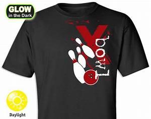 Bowling Strike! Glow-in-the-Dark T-shirt - imaginTEE