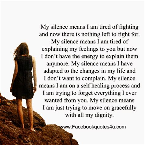 My Silence Quotes Quotesgram