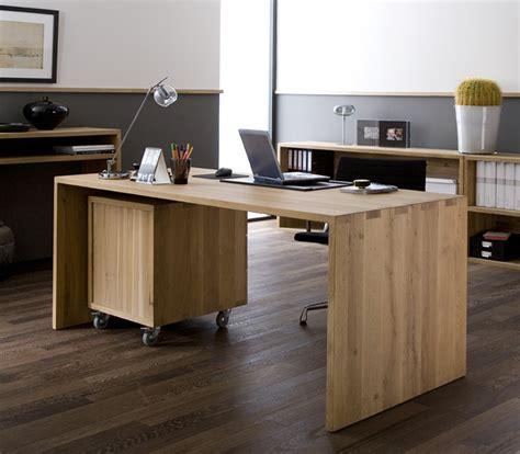 ethnicraft bureau tips voor een home office in de woonkamer