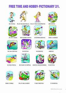 226 FREE ESL Free time, leisure activities worksheets