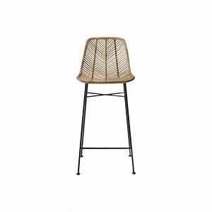 Chaise De Bar En Rotin : chaise de bar en rotin the socialite family ~ Teatrodelosmanantiales.com Idées de Décoration