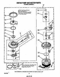 Kenmore Dishwasher Schematic Diagram