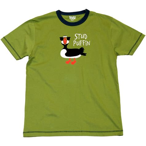 stud puffin t shirt
