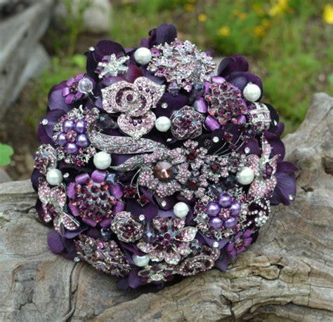 brooch wedding bouquets weddings romantique
