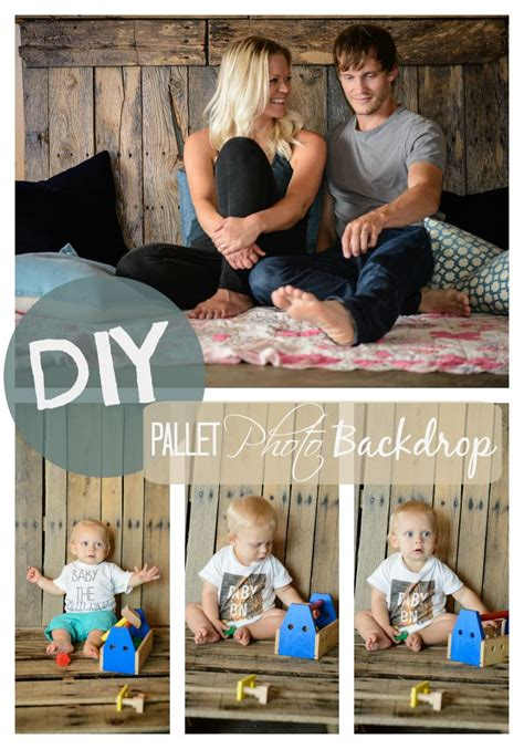 diy pallet photo backdrop constructionstyle