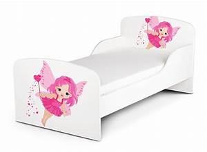 Kinderbett Matratze 140x70 : kinderbett 140x70 cm mit matratze thema gute fee ~ Frokenaadalensverden.com Haus und Dekorationen