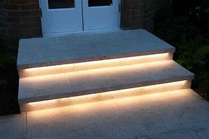 truly innovative garden step lighting ideas garden With outdoor led strip lights for stairs