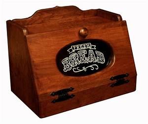 Solid Wood Amish Bread Box