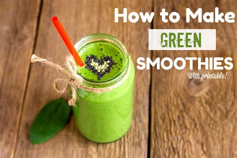 how to make a smothie how to make a green smoothie healthy ideas for kids