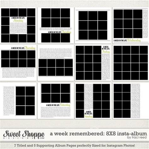 instagram grid template 97 best instagram scrapbooking images on craft and project