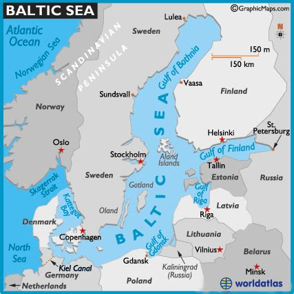 map  baltic sea baltic sea map location world seas