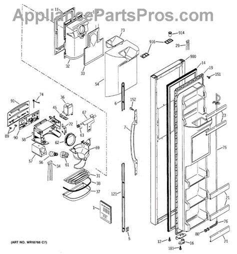 ge wrx handle sxs  appliancepartsproscom