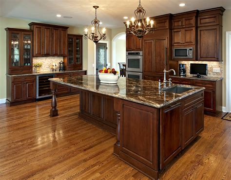 kitchens with cherry cabinets cherry cabinets kitchen traditional with none 6609