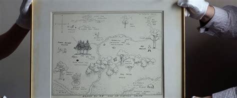 Original 100 Acre Pooh Map Up For Sale