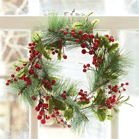 christmas wreath collection   home beautiful house