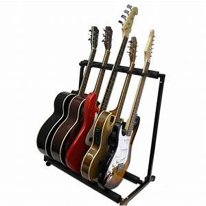 5 Guitar Stand- Holds 5 Guitars-Multiple Display Rack