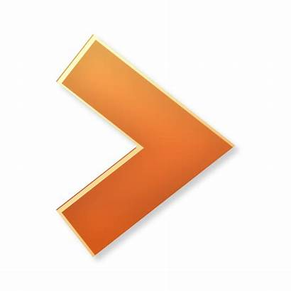 Arrow Icon Right Orange Forward Icons 3d