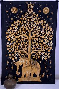 tree of life indian wall hanging tapestry bedspread throw With indian wall decor