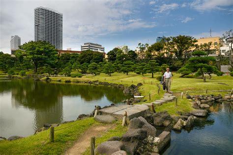 Japanischer Garten In Tokio by Traditionell Japanischer Garten Kyu Shiba Rikyu