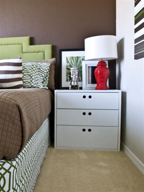 What To Put In A Nightstand by Tips For A Clutter Free Bedroom Nightstand Hgtv