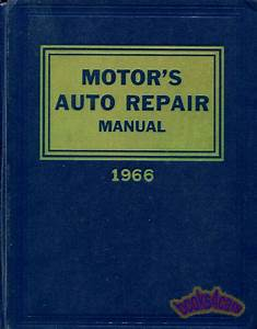 Motors Auto Repair Manual Shop Service Book 1959