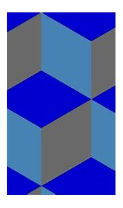 Wallpaper grey blue 3d cubes #0000cd #4682b4 #696969 345 ...